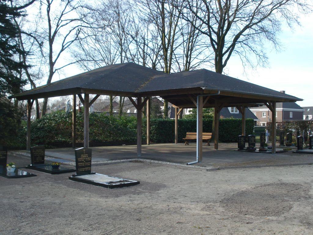 Overkapping begraafplaats Neerkant