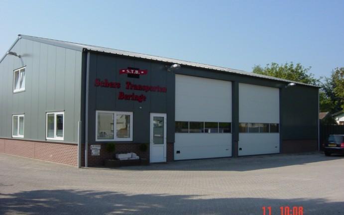 Fabriekshal Schers Transport Beringe